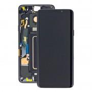 Estrutura para a Parte Frontal e Ecrã LCD GH97-21691A para Samsung Galaxy S9+ - Preto
