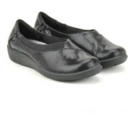 Clarks Sillian Jetay Black Combi Corporate Casuals(Black)