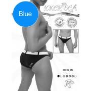 Icker Sea Sailor Belted Slip Bikini Swimwear Blue/White COB-12-141