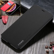 X-LEVEL Leather Stand Phone Cover Case with Card Slot for iPhone 11 Pro Max 6.5-inch - Black