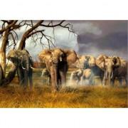 Geen Kinder placemats olifantjes