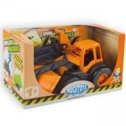 Детски багер - Active, с гумени колела в кутия 10177 MOCHTOYS, 5907442101775