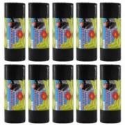 Pachet 10 bucati - Saci menajeri 120L pentru pubela Sac plastic pentru menaj gunoi frunze deseuri 10 x 10buc