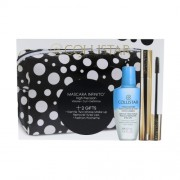 Collistar Mascara Infinito Kit 11Ml Mascara 11 Ml + Make Up Remover Gentle Two Phase 50 Ml + Cosmetic Bag Extra Black Per Donna (Cosmetic)