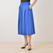 SUPERLADY ポンチ素材クロップド丈ワイドパンツ【QVC】40代・50代レディースファッション