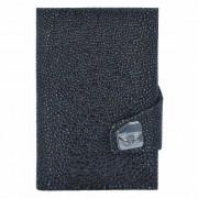 Tru Virtu Click & Slide Sting Porte-cartes de crédit Portemonnaie cuir 6,5 cm