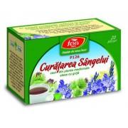 Ceai pentru curatarea sangelui P126, 20 plicuri, Fares