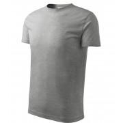 ADLER Classic New Dětské triko 13512 tmavě šedý melír 134