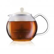 Bodum Assam teakészítő 0,5l, fehér