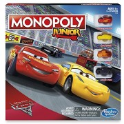 Hasbro Cars 3 Monopoly Junior Board Game
