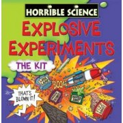 Horrible Science Kit experimente explozive