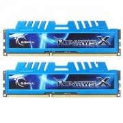 Memorie G.Skill RipJawsX 16GB (2x8GB) DDR3 PC3-12800 CL9 1.5V 1600MHz Intel Z97 Ready Dual Channel Kit, F3-1600C9D-16GXM