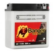 Banner 6N11A-1B Bike Bull motorkerékpár akkumulátor - 01214