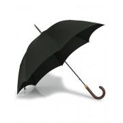 Fox Umbrellas Polished Hardwood Umbrella Racing Green