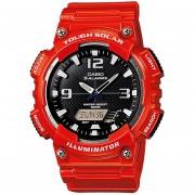 Reloj Casio AQ-S810WC-4AVCF Tough Solar World Time-Rojo