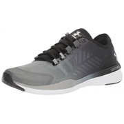 Under Armour Women's UA W Charged Push TR SEG Rhino Grey, Black and Metallic Silver Multisport Training Shoes - 6.5 UK/India (40.5 EU)