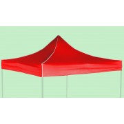 Strešné plachty 3x3m, Červená