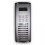 Videointerfon de exterior Commax DRC-16AC, 1/4 inch, 16 familii, ingropat