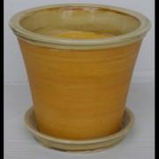 Ghiveci din ceramica pentru flori cu suport, 6118, MN019704, Feronya
