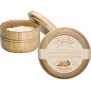 Mondial Luxury Shaving Cream Wooden Bowl 140 ml Mandarino e Spezie Rasiercreme
