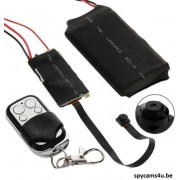 Knoop camera HD 1080P met afstandsbediening - Verborgen camera High Definition 1080P - spy camera