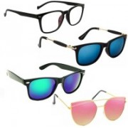Vitoria Wayfarer, Butterfly Sunglasses(For Boys & Girls)