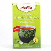 YOGI TEA Tè Verde Matcha al Limone - 17 bustine