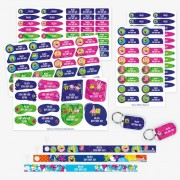 Stikets SpongeBob SquarePants Labels plus Hanging Loops Pack