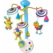 Carusel Muzical Tiny Love Clasic cu Lumina de Veghe Multicolor