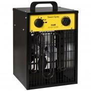 Ventilatorkachel 5kW 400V staand met thermostaat trappenloos instelbaar