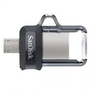 SanDisk Ultra SDDD3-064G-G46 64GB Dual Drive m3.0 for Android Devices and Computers, Color Silver