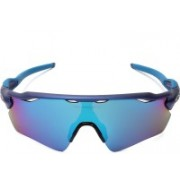 Oakley RADAR EV PATH Sports, Rectangular Sunglass(Blue)