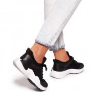 Pantofi sport dama Vazze, Negru 41