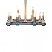 Van Abbevé Industriële Steigerbuis Hanglamp Up