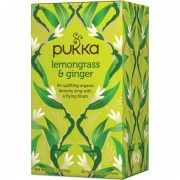 Pukka Lemongrass & Ginger Tea EKO 20 påsar The