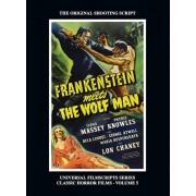 Frankenstein Meets the Wolf Man: (Universal Filmscript Series, Vol. 5) (hardback), Hardcover/Philip J. Riley