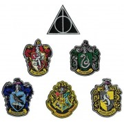 Cinereplicas Harry Potter - House Crests Patches 6-Pack