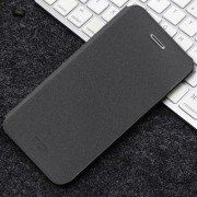 MOFI for Huawei P20 Lite Frosted Texture Shockproof Horizontal Flip Leather Case with Holder(Black)