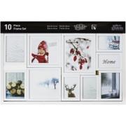Nielsen 10 Piece Frame Set white Plastic Mobile Rack 8999175