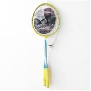 Set de badminton galben Vektory