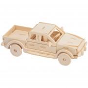 3D Puzzle De Pintura Forma De Camión