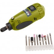 Extol Craft mini köszörű és fúrógép; 15.000 ford/perc, befogás: 3,2mm, max. fejátmérő: 35mm 404121