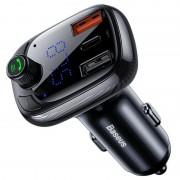 Incarcator auto Baseus 5A, Bluetooth 5.0, Emitator FM HD, Microfon, Quick Charge 4.0