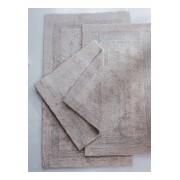 Cawö Keerbare badmat ca. 70x120cm Cawö zilverkleur