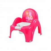 TEGA BABY Nočník kresielko Little Princes - ružový