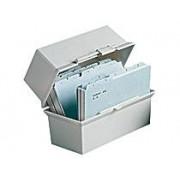 Esselte Kortlåda Cardo A6L ljusgrå 250 kort