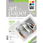 Nažehľovací papier na svetlý textil A4 5 ks 120g/m2