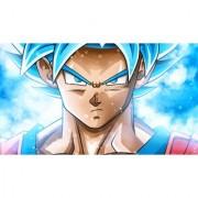 super saiyan blue goku sticker poster|dragon ball z poster|anime poster|size:12x18 inch|multicolor