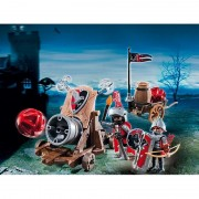 Tunul cavalerilor ordinului Soim Playmobil