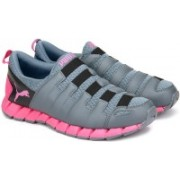 Puma Osu v4 Wn's DP Running Shoes For Women(Grey, Pink)